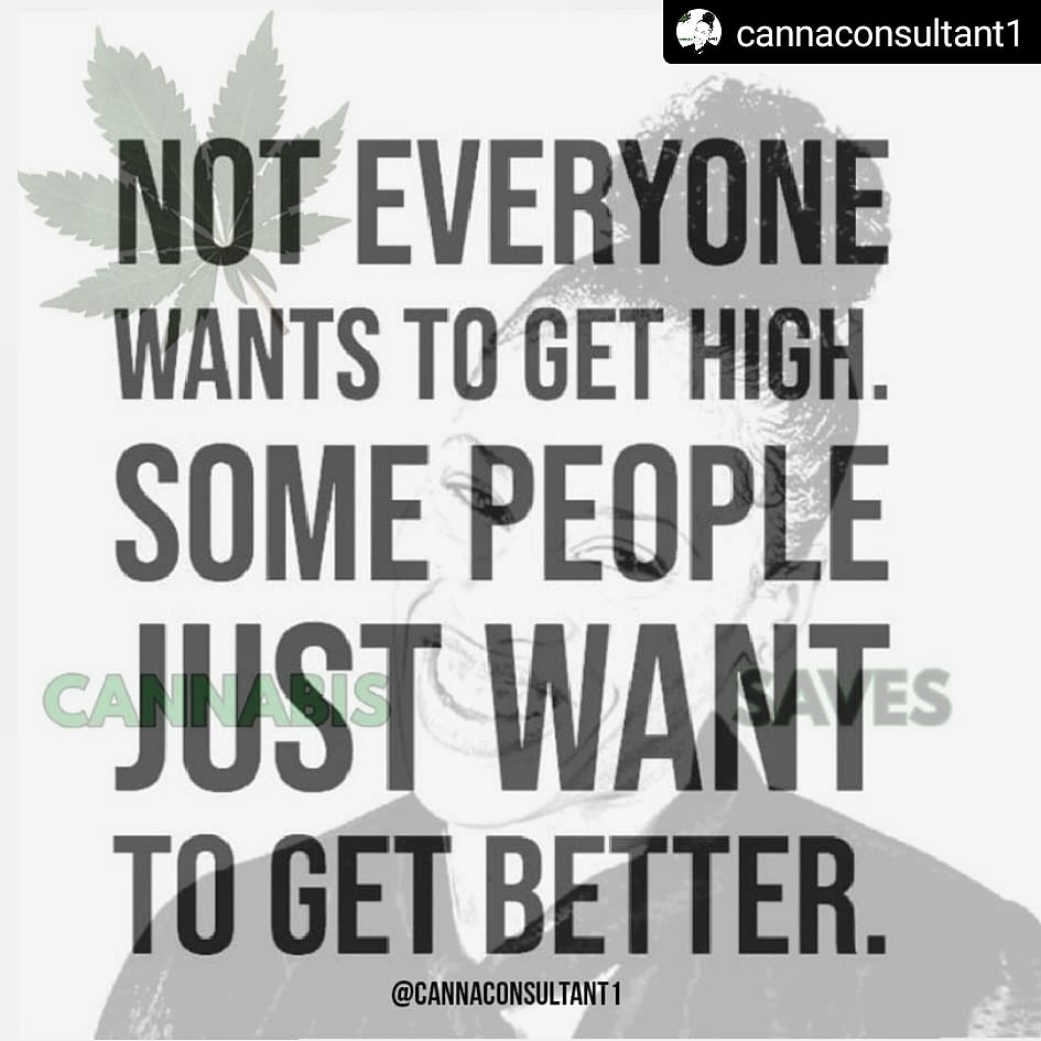 You Don't Have to Get High to Get Better