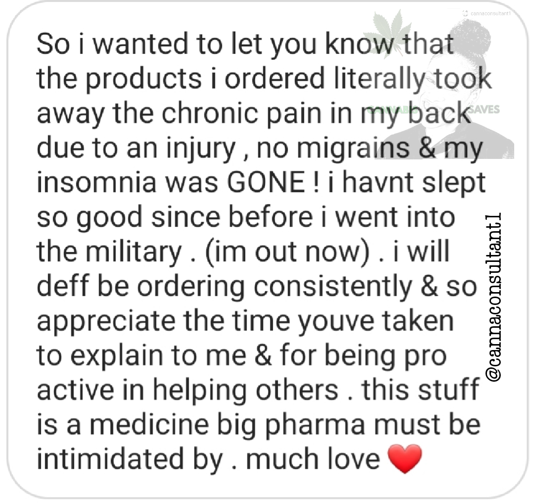 Pain, Insomnia, and Migraines, GONE! Client Testimonial