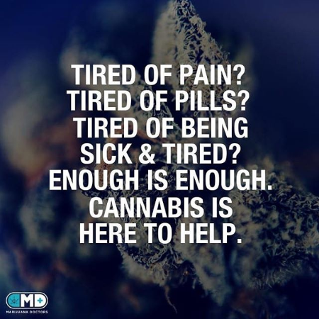 Cannabis is Here to Help!
