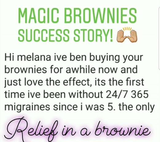 Magic Brownies Killing Migraines!