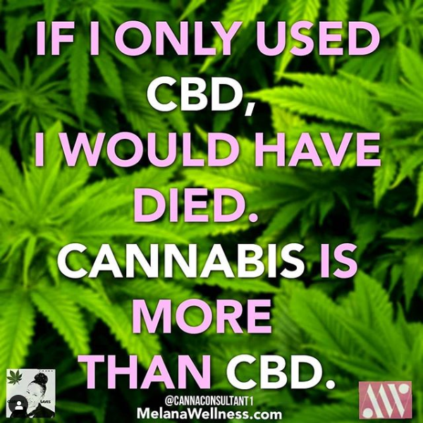 Cannabis is More than CBD!