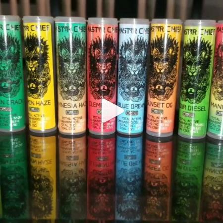 Master Chief Premium Vape Cartridges