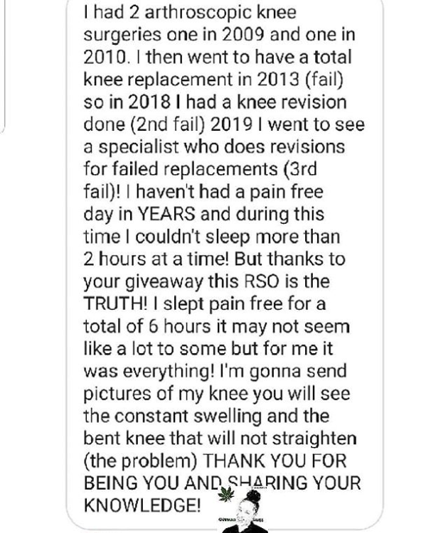 Testimonial Tuesday: Knee Pain Gone and Finally Sleeping!