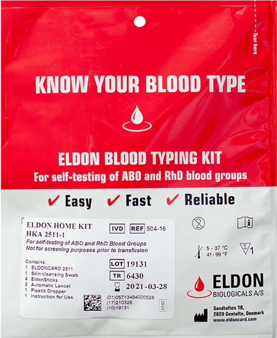 Knowing Your Blood Type is Important to Your Health!