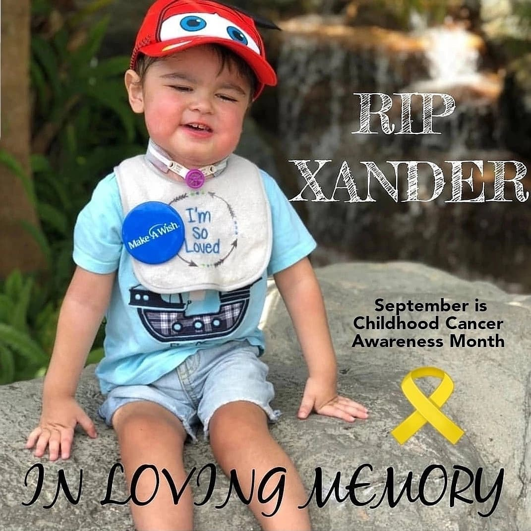 Tribute to Childhood Cancer Warriors! 🎗️